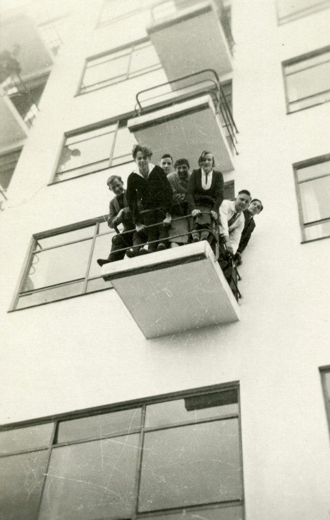 Dessau Bauhausköpfe (aus dem Bauhaus-Fotoalbum von Fritz Schreiber) (Foto: Stiftung Bauhaus Dessau)